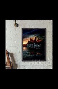 Poster - Harry Potter and Deathly Hollows Hogwarts Afiş Büyük