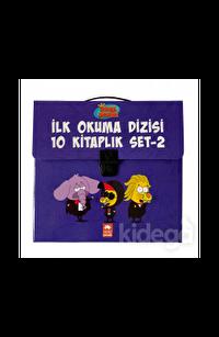 Kral Şakir İlk Okuma Kitapları Çantalı Set 2 (10 Kitap Takım)