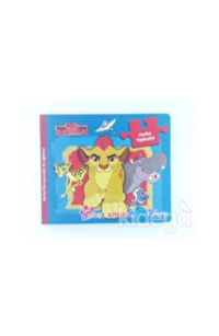 Disney Aslan Koruyucular - Neşeli Yapboz Kitabım