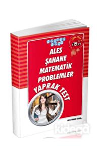 ALES Şahane Matematik Problemler Yaprak Test