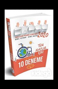 Yediiklim EKPSS Tüm Adaylar İçin Tamamı Çözümlü 10 Deneme 2020