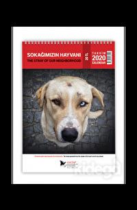 Haytap 2020 Sokak Hayvanları Duvar Takvimi
