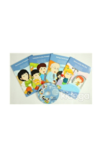 7. Sınıf İngilizce Hikaye Seti (4 Kitap + 1 CD)