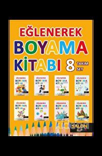Eğlenerek Boyama Kitabı (8 Kitap Takım)