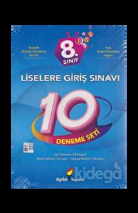 Aydın 8. Sınıf LGS 10 Deneme Seti