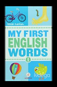 My First English Words 1 - Sözcük Kartları