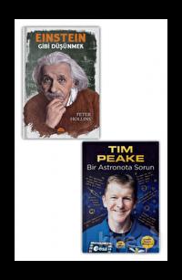 Einstein Gibi Düşünmek - Bir Astronota Sorun Seti (2 Kitap Takım)