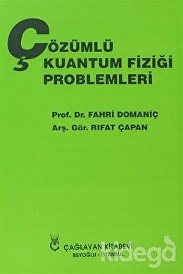 Çözümlü Kuantum Fiziği Problemleri