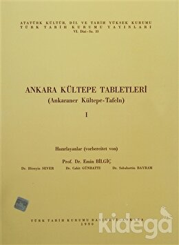 Ankara Kültepe Tabletleri 1 (Ankaraner Kültepe-Tafeln)