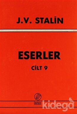 J. V. Stalin Eserler Cilt: 9, Josef V. Stalin