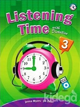 Listening Time 3 with Dictation + MP3 CD