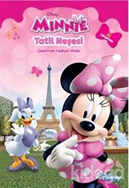 Disney Minnie - Tatil Neşesi Çıkartmalı Faaliyet Kitabı