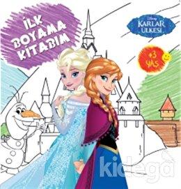 Disney İlk Boyama Kitabım - Karlar Ülkesi