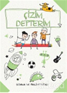 Çizim Defterim Boyama ve Faaliyet Kitabı (Yeşil)