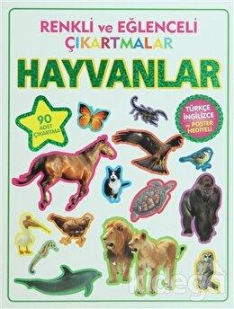 Renkli ve Eğlenceli Çıkartmalar - Hayvanlar (Animals)
