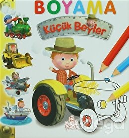 Küçük Beyler Boyama Kitabı 2
