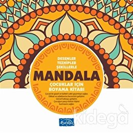 Desenler Tezhipler Şekillerle Mandala - Sarı Kitap