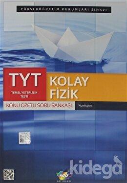 TYT Kolay Fizik Konu Özetli Soru Bankası