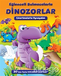 Eğlenceli Bulmacalarla Dinozorlar