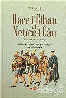 Hace-i Cihan ve Netice-i Can