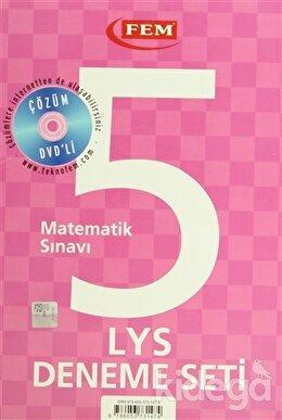 Çözüm Dvd'li 5 LYS Deneme Seti Matematik Sınavı