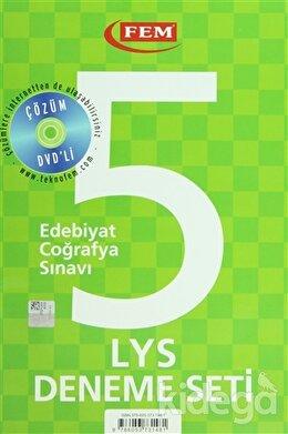 Çözüm Dvd'li 5 LYS Deneme Seti Edebiyat - Coğrafya Sınavı