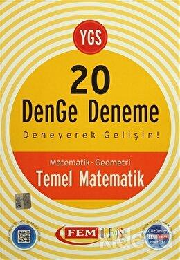 YGS 20 Denge Deneme Temel Matematik