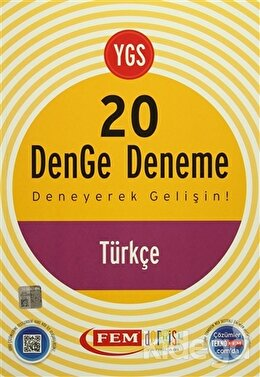 YGS 20 Denge Deneme Türkçe