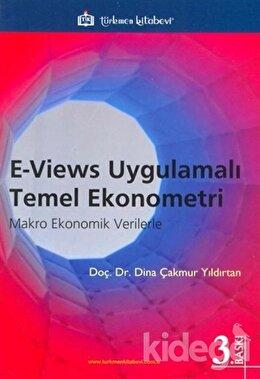 E - Views Uygulamalı Temel Ekonometri, Z. Dina Çakmur Yıldırtan