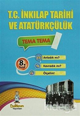8. Sınıf T.C. İnkılap Tarihi ve Atatürkçülük (7 Fasikül Test)