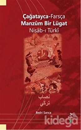 Çağatayca - Farsça Manzum Bir Lügat Nisab-ı Türki