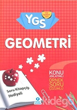 YGS Geometri - Soru Kitapçığı Hediyeli