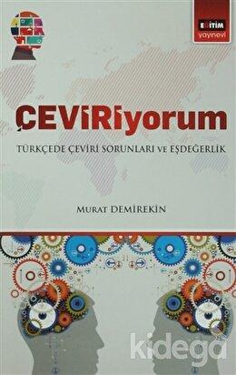 Çeviriyorum - Türkçede Çeviri Soruları ve Eşdeğerlik
