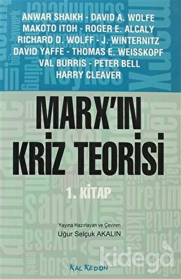 Marx'ın Kriz Teorisi 1. Kitap