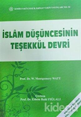 İslam Düşüncesinin Teşekkül Devri