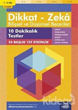 7-8 Yaş Dikkat - Zeka Bilişsel ve Düşünsel Beceriler