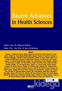 Recent Advances in Health Sciences