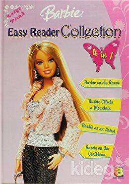 Barbie Easy Reader Collection 4 in 1 (Pink)