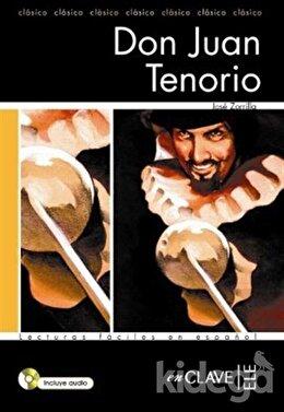 Don Juan Tenorio +Audio Descargable (LFEE Nivel-2) İspanyolca Okuma Kitabı