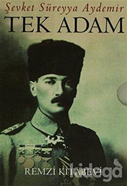 Tek Adam Mustafa Kemal (3 Cilt Takım - Kutulu)