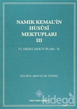 Namık Kemal'in Hususi Mektupları 3. Cilt