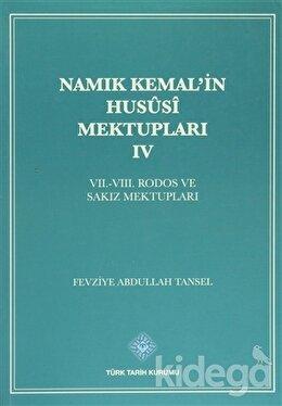 Namık Kemal'in Hususi Mektupları 4. Cilt
