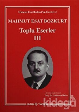 Mahmut Esat Bozkurt Toplu Eserler 3