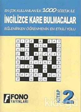 İngilizce Kare Bulmacalar 2. Kitap