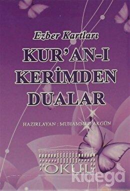 Ezber Kartları - Kur'an-ı Kerimden Dualar