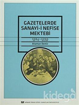Gazetelerde Sanayi-i Nefise Mektebi