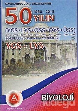Konularına Göre Düzenlenmiş 50 Yılın YGS-LYS  Biyoloji Soruları ve Ayrıntılı Çözümleri
