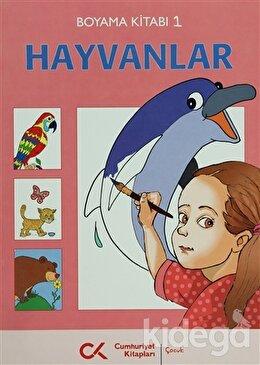 Hayvanlar Boyama Kitabı 1