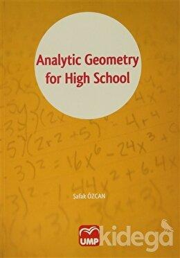 Analytic Geometry for High School, Şafak Özcan
