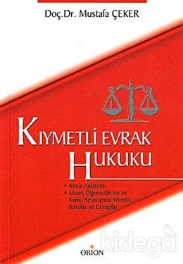 Kıymetli Evrak Hukuku